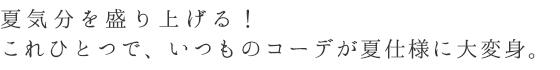 和アクセ作家MAKI「夏限定*マリンなキラメキ、片耳ピアス」