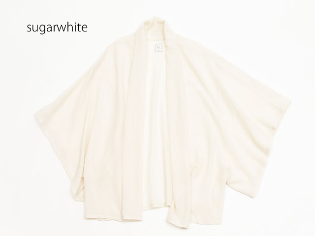 springカーディガンコートsugar white