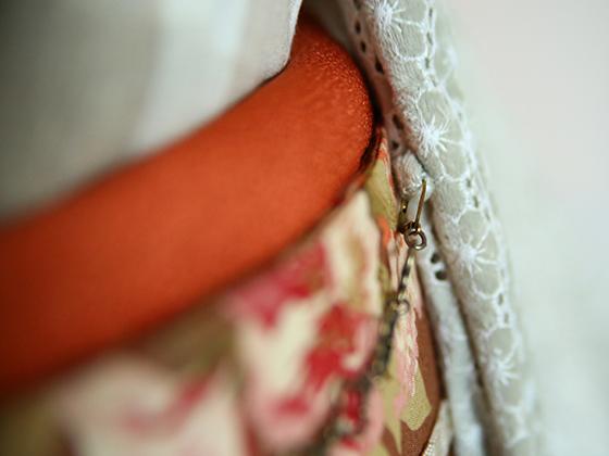 羽織紐「クローバー」