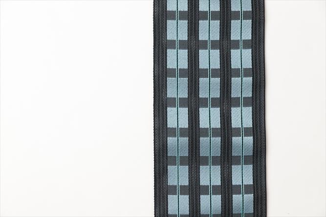 博多織半幅帯ーキャタピラリズム