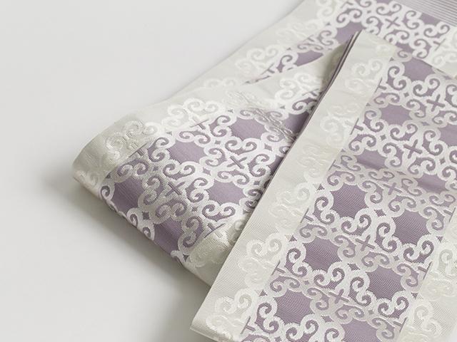 博多織「アラベスク・purple pink」