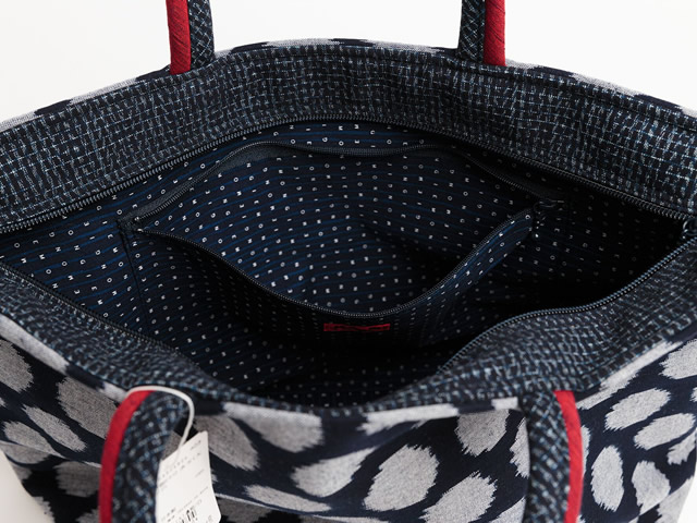 久留米絣トートバッグ