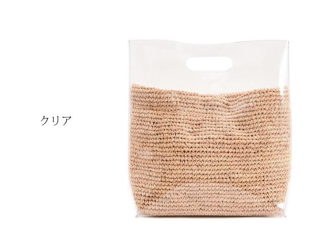 夏のかごバッグ