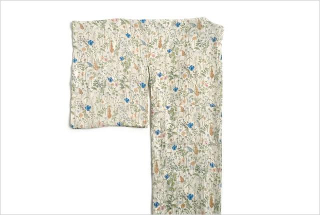 リネン着物-ボタニカル flowers
