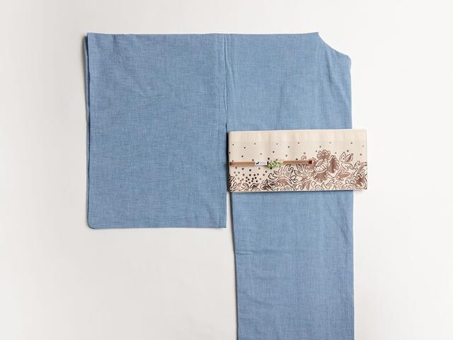 レース刺繍着物-minimum