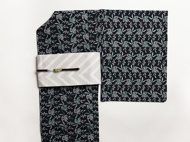 レース刺繍着物-鈴花