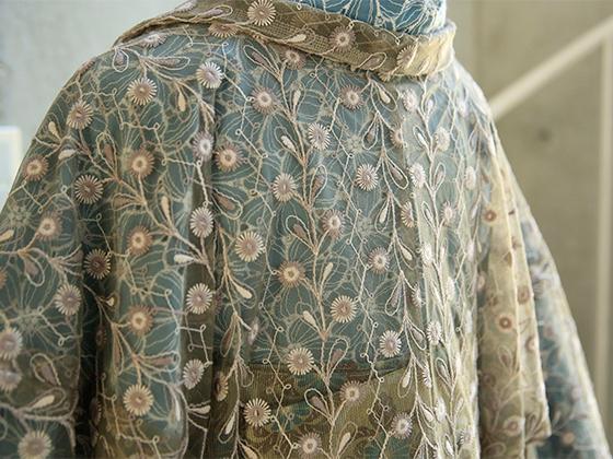 レース薄羽織「ひな菊」