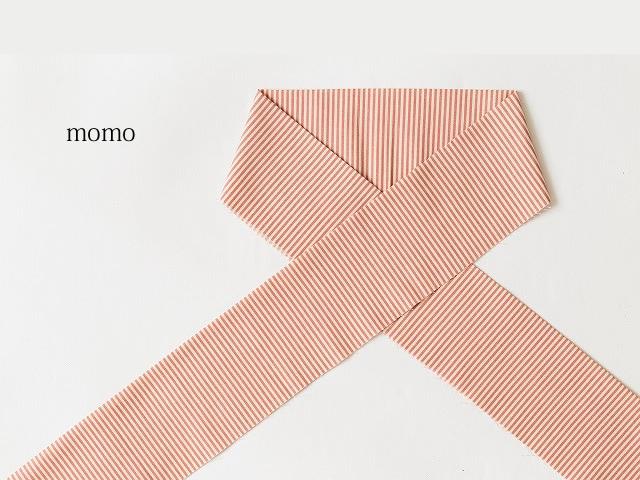 【木綿のお半襟】stripe