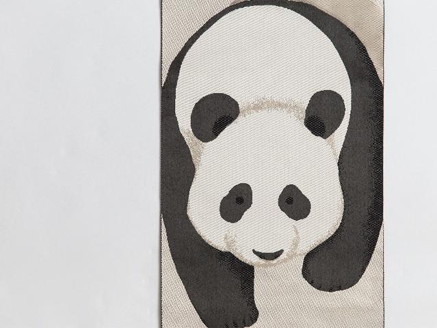 博多織名古屋帯「アニマルマニア熊猫」