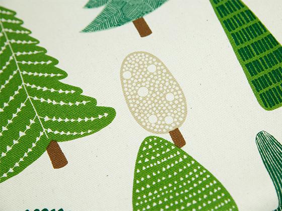 名古屋帯「MERRY CRISTMAS- モミの木」