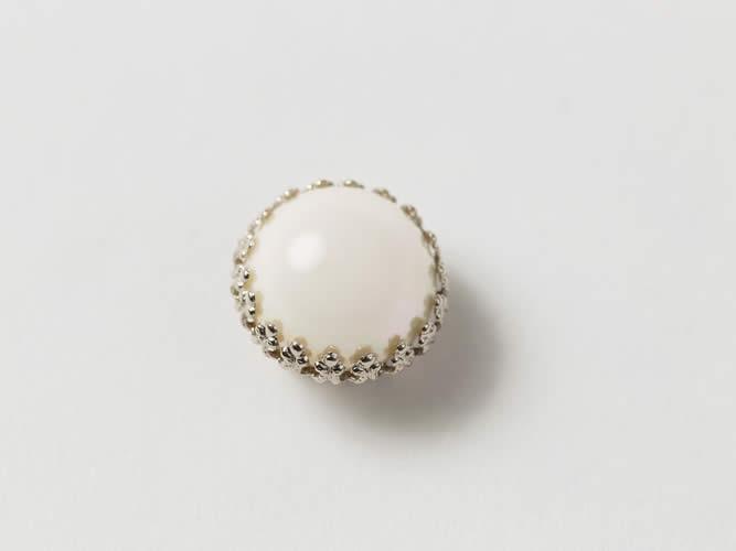 【帯留め】Pearl