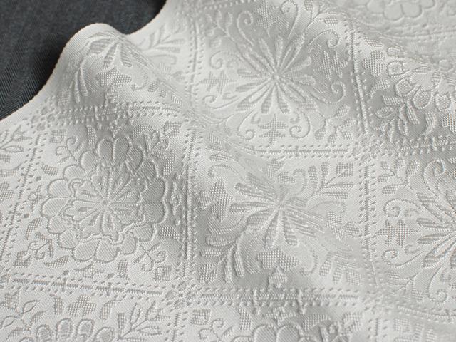 正絹ふくれ織りお半衿「マーガレット」