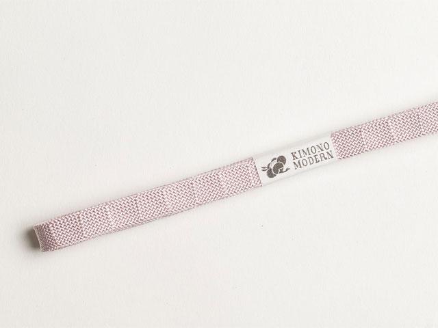 正絹帯締め「ニッポンCOLORS-薄桜」