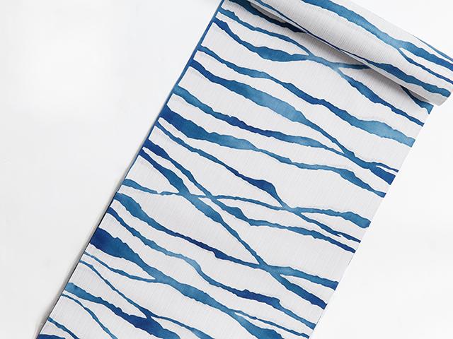 浜松注染ゆかた「さざ波blue」